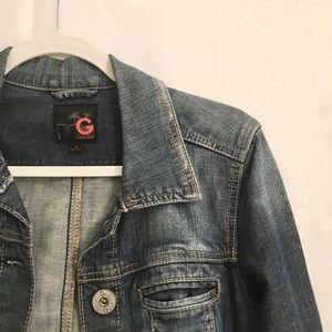 Distressed G by Guess Jean Jacket